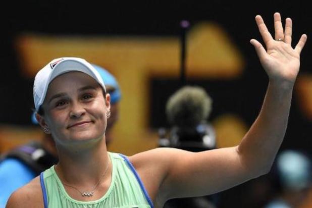 Barty et Osaka souveraines, Kvitova a dû s'employer, Wozniacki fait durer le plaisir à l'Open d'Australie