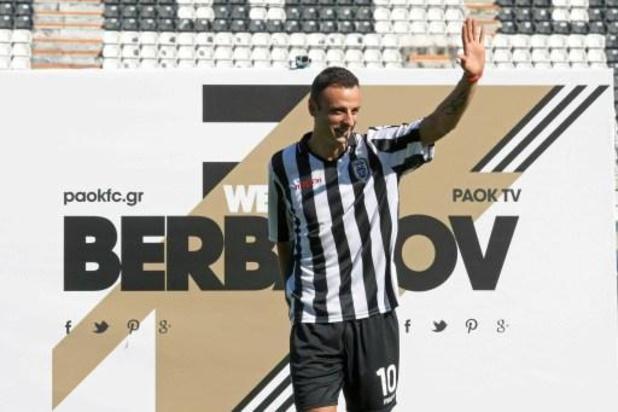 Le buteur bulgare Berbatov met un terme à sa carrière