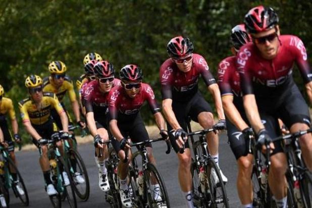 Geraint Thomas (Ineos) ne voulait pas disputer le Tour de France sans être leader