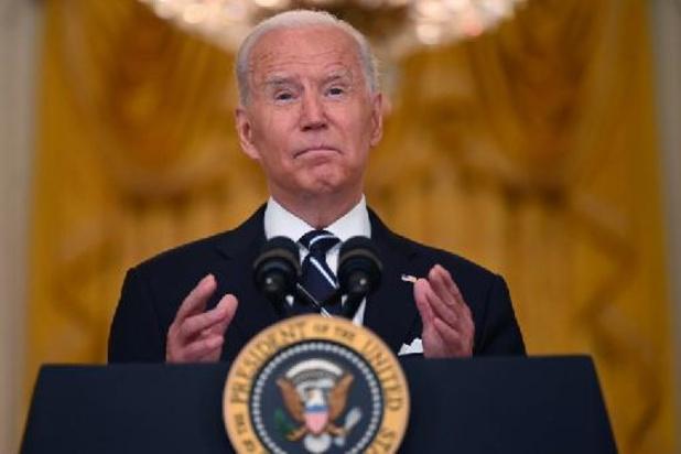 Biden, sous pression, s'explique sur les opérations d'évacuation d'Afghanistan