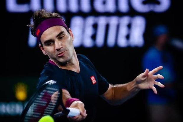 """Roger Federer de retour en mars à Doha: """"Important de reprendre par un petit tournoi"""""""