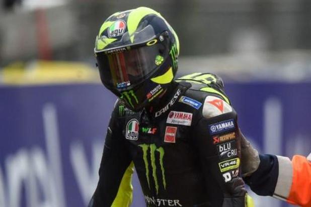 Valentino Rossi legt positieve test af en mist GP van Aragon