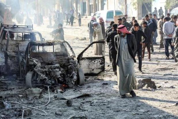 Negen doden bij explosie bomauto in Syrische grensstad