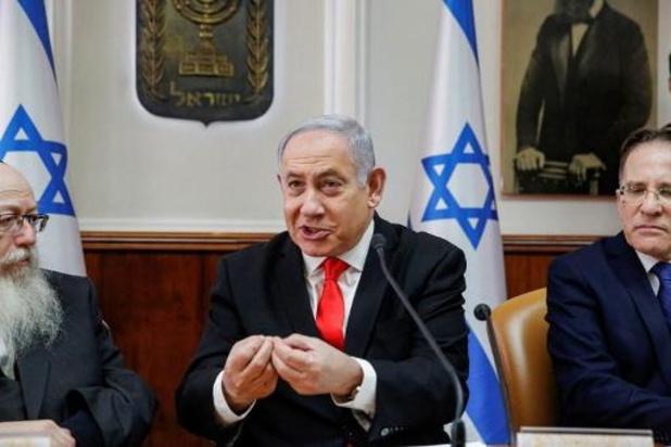 Netanyahu verdeelt drie ministerportefeuilles
