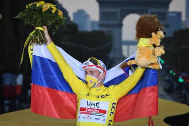 """Tour de France - Pogacar na eerste Tourzege: """"Een ongelooflijk avontuur"""""""