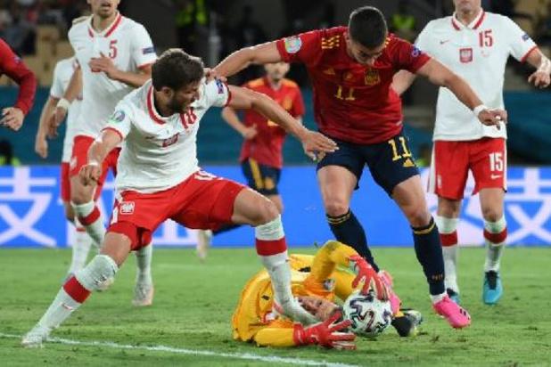 EK 2020 - Spanje speelt opnieuw gelijk: 1-1 tegen Polen