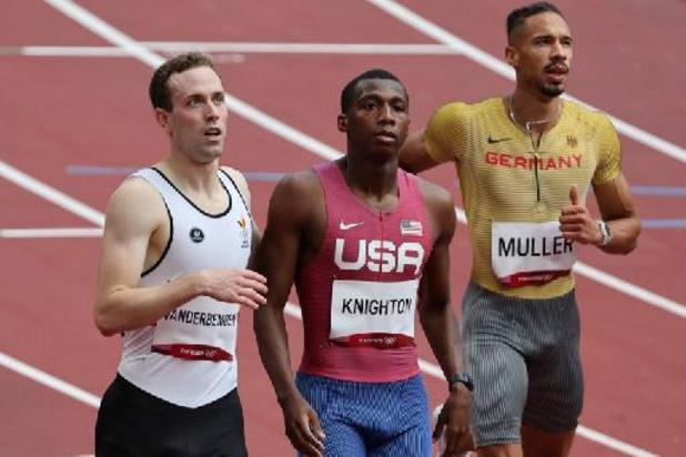 OS 2020 - Robin Vanderbemden naar halve finales 200 meter