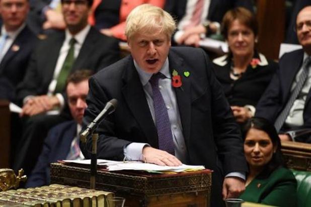 Johnson se dédouane de ne pas avoir sorti son pays de l'UE