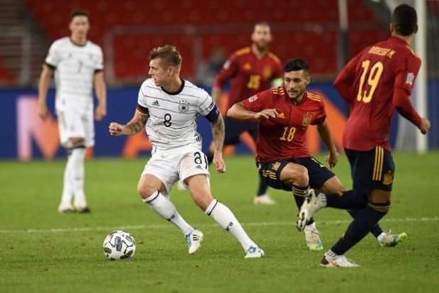 Ligue des Nations - L'Allemagne et l'Espagne partagent, l'Ukraine s'impose avec un assist de Mykhaylichenko