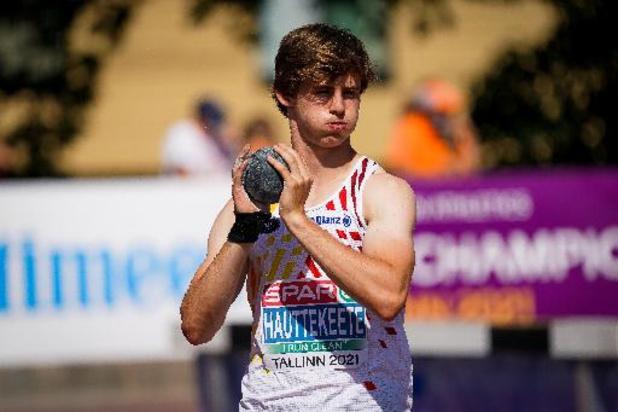 Championnats d'Europe juniors d'athlétisme - Jente Hauttekeete largement en tête du décathlon à mi-parcours