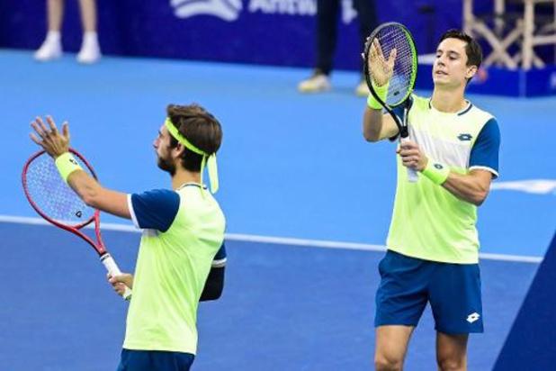 """ATP Nur-Sultan - Gillé en Vliegen winnen eerste titel van seizoen in Kazachstan: """"Heel fier"""""""