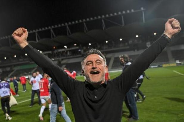 Ligue 1 - Na titel met Lille gaat Christophe Galtier aan de slag bij Nice