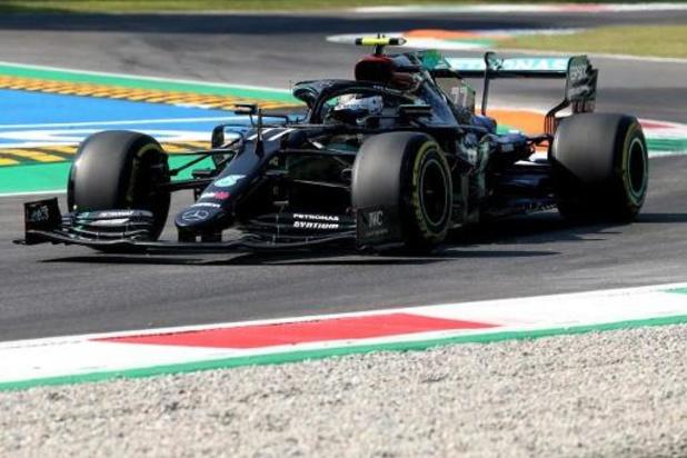Mercedes domine la première séance d'essais libres du Grand Prix d'Italie