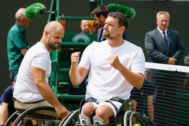 Masters en fauteuil roulant - Joachim Gérard en finale du double à Orlando au détriment de Jef Vandorpe