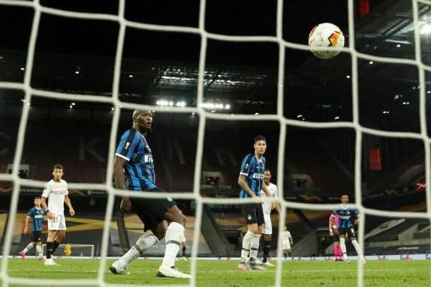 """Europa League - Romelu Lukaku: """"Nous serons de retour sempre forza Inter"""""""