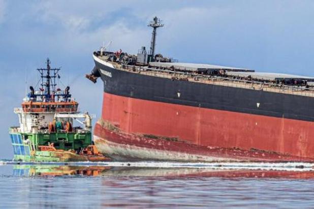 Maurice: arrivée d'experts de l'Onu pour lutter contre la marée noire
