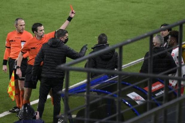 L'entraîneur de Mouscron Jorge Simao reste suspendu un match, au Beerschot le 28 février