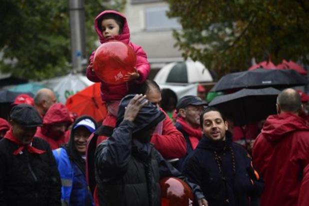Quelque 10.000 militants attendus à la manifestation nationale de la FGTB