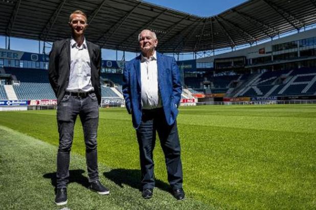 Le président de La Gantoise, Ivan De Witte affiche des ambitions de champion
