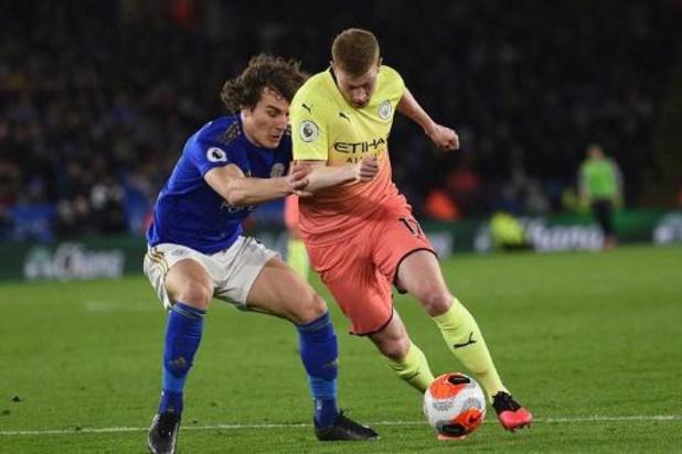 Belgen in het buitenland - Manchester City wint nipt op Leicester, Januzaj scoort voor Real Sociedad