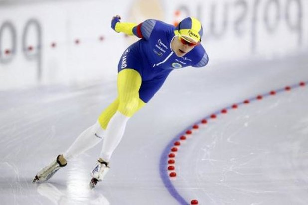 Mondiaux de patinage de vitesse - Record du monde et titre mondial sur 10.000m pour le Suédois van der Poel