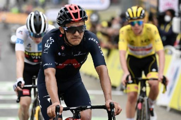 """Richard Carapaz """"assez content"""" du résultat après sa 3e place à Luz-Ardiden"""