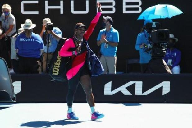 """""""Si je fais mes adieux, je ne le dirai à personne..."""", assure Serena Williams"""