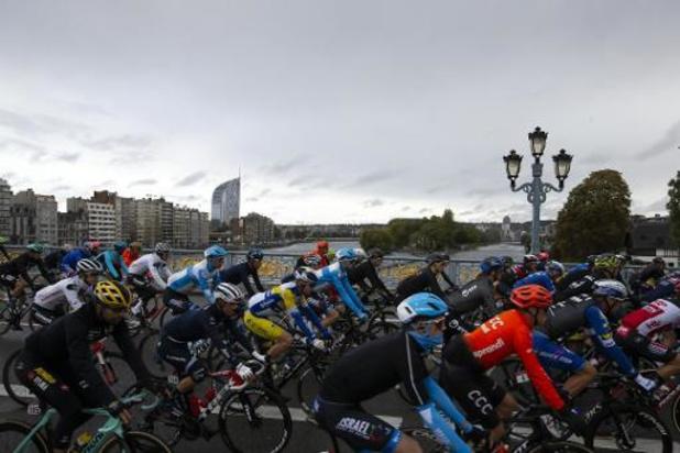 Les coureurs ont pris le départ à Liège