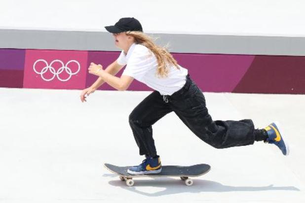 JO 2020 - La skateuse belge Lore Bruggeman n'a pas réussi à se qualifier pour la finale