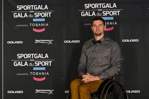 Comme en 2019, Joachim Gérard est le Paralympique de l'Année
