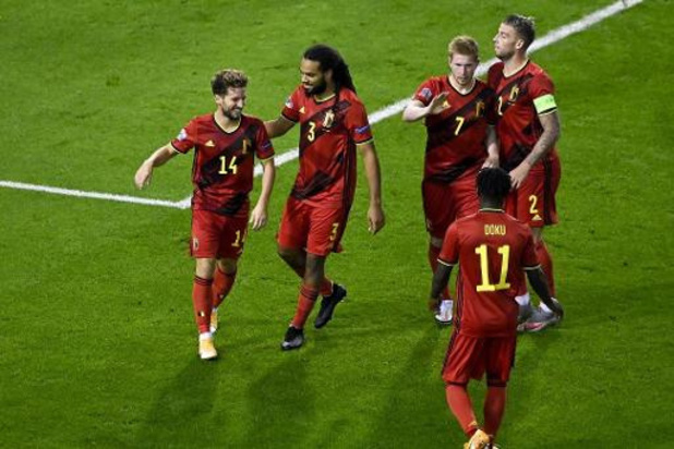 La Belgique va poursuivre sa domination en tête du classement FIFA