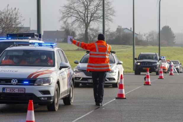 Coronavirus - Zes Covid-pv's bij controle nabij Belgisch-Luxemburgse grens