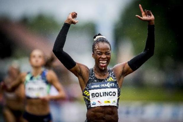 Cynthia Bolingo verbetert in Nancy eigen BR op 400m en zet snelste Europese jaartijd neer