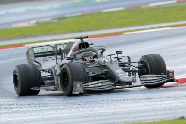 F1 - GP van Turkije: Hamilton evenaart record Schumacher met zevende wereldtitel na zege in Istanboel