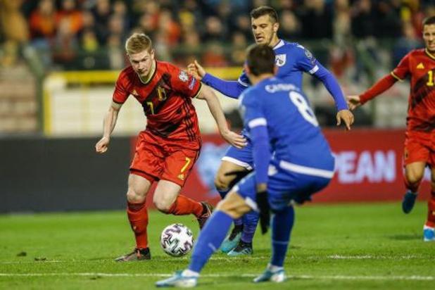 "Rode Duivels - Kevin De Bruyne matchwinnaar met twee treffers: ""Hadden twintigtal minuten nodig"""