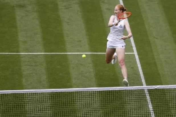"""Wimbledon - Alison Van Uytvanck songe déjà à Tokyo : """"Ce seront des Jeux bizarres avec le Covid"""""""