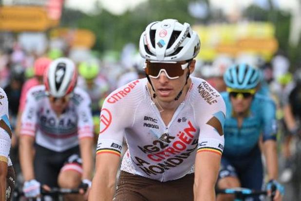 Tour de France - Aanvallers zijn aan zet, Oliver Naesen wil zijn slag slaan