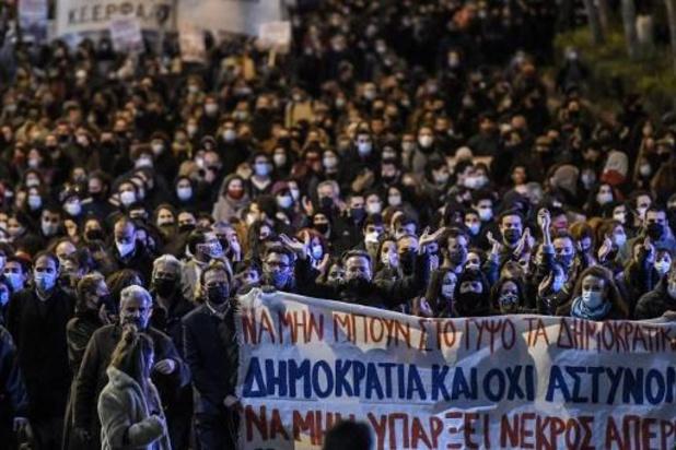 Grèce: le détenu extrémiste arrête sa grève de la faim
