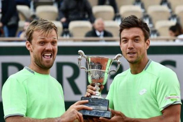 European Open - Ruben Bemelmans et Kimmer Coppejans impuissants contre Kevin Krawietz et Andreas Mies