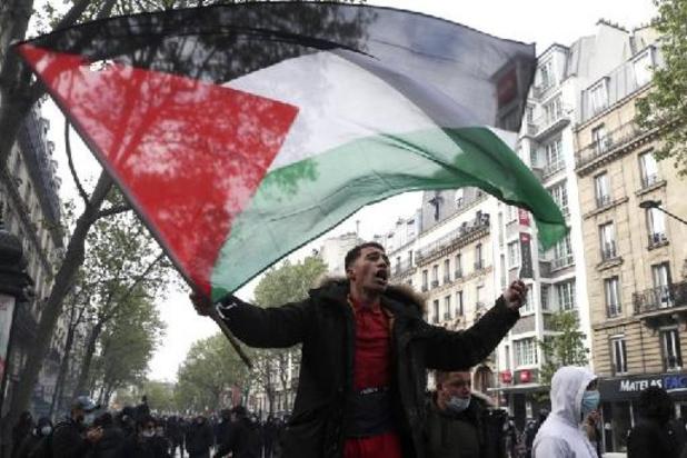 Onrust Midden-Oosten - Tienduizenden pro-Palestijnse manifestanten op straat in Europa en Noord-Amerika