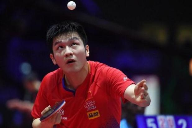 Coupe du monde de tennis de table: troisième victoire du N.1 mondial chinois Fan Zhendong