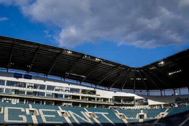 Les matchs à domicile de Gand ne sont pas compromis pour l'instant, selon le club