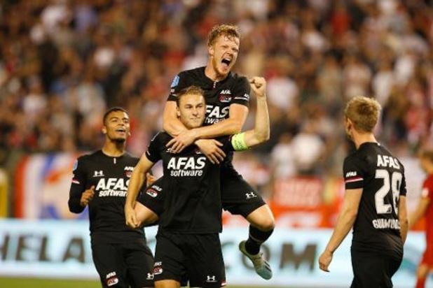 Belgen in het buitenland - AZ vernedert Astana, Wolverhampton pakt tweede zege in Bratislava
