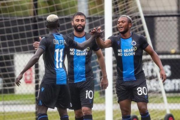 Jupiler Pro League - Le Club de Bruges a lancé sa saison par une victoire 4-1 contre OHL