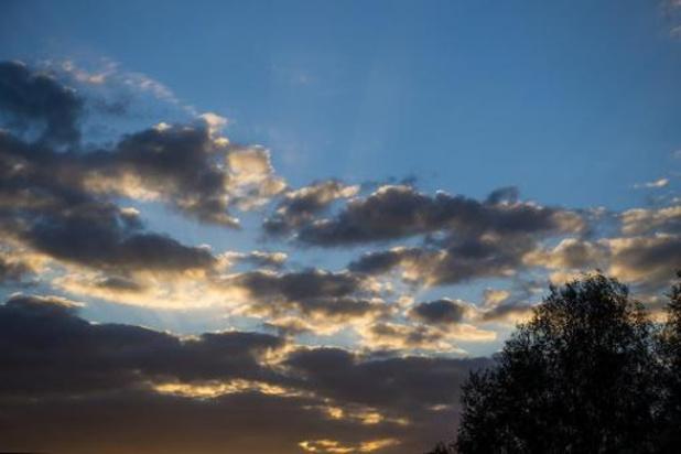 Un temps doux mais nuageux