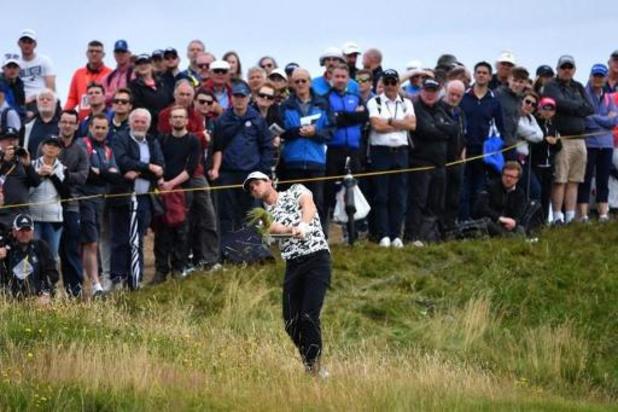 US Open golf - Pieters zakt van twee naar zeven, Detry klimt van 33 naar 22