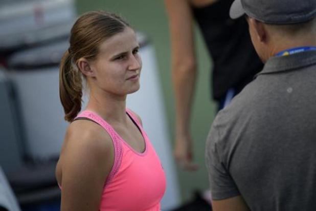 WTA Tachkent : Greet Minnen passe au deuxième tour