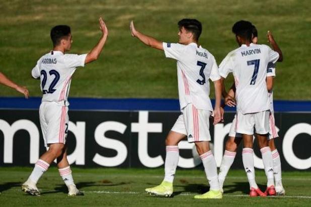 Le Real Madrid bat Benfica en finale de l'UEFA Youth League