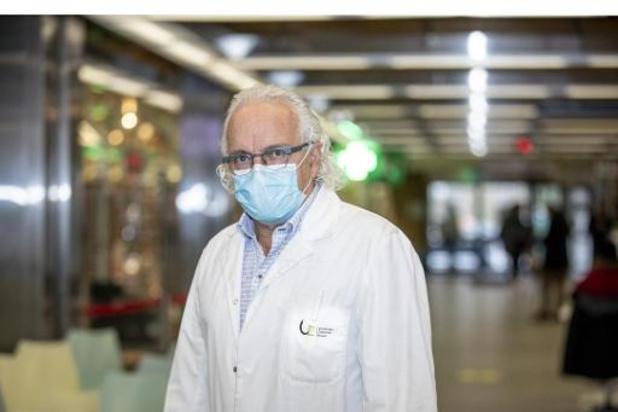 Coronavirus - Marc Noppen ziet opnieuw zware opnames op intensieve zorgen van UZ Brussel