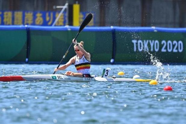 OS 2020 - Hermien Peters naar A-finale K1 500m, Lize Broekx in C-finale